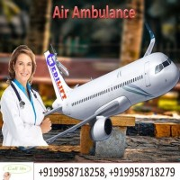 Now Book Air Ambulance in Delhi by Medilift with Medical Team
